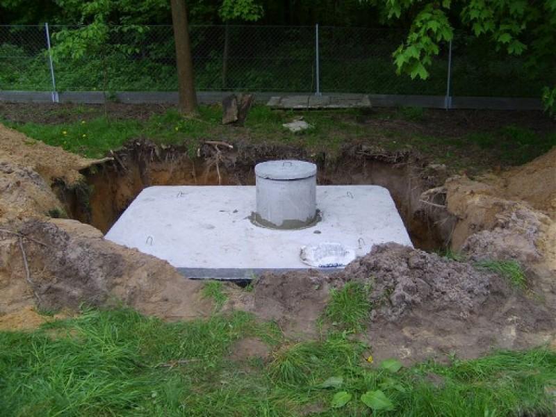 Szamba betonowe jednokomorowe łączone